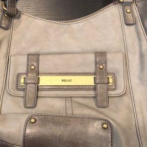 Never used! Grey shoulder purse!